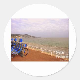 Nice France #2 Classic Round Sticker