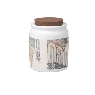 Nice France City Streets Candy Dish