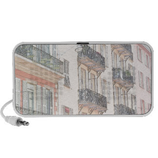 Nice France City Streets iPod Speakers