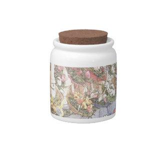 Nice France Farmers Market Candy Jar