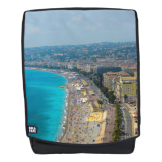 Nice France located in the French Riviera Backpack