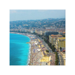Nice France located in the French Riviera Canvas Print