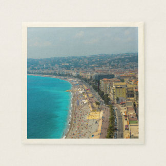 Nice France located in the French Riviera Paper Napkin