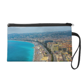 Nice France located in the French Riviera Wristlet