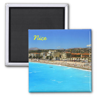 Nice France, Nice 2 Inch Square Magnet