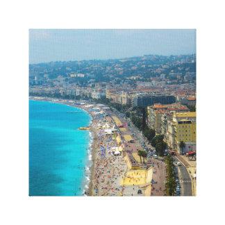 Nice France Photograph Canvas Print
