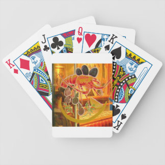 Nice, France - Stained glass window Bicycle Playing Cards