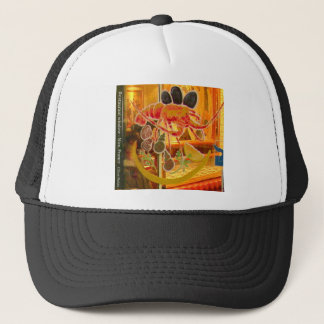 Nice, France - Stained glass window Trucker Hat