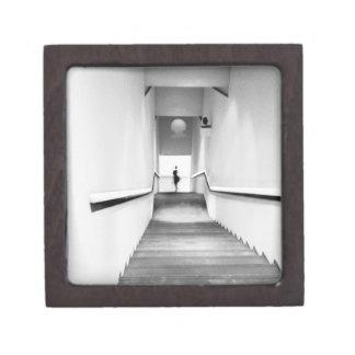 Nice France, Staircase Museum of Modern Art Keepsake Box