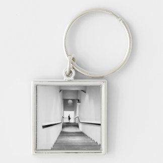 Nice France, Staircase Museum of Modern Art Keychain