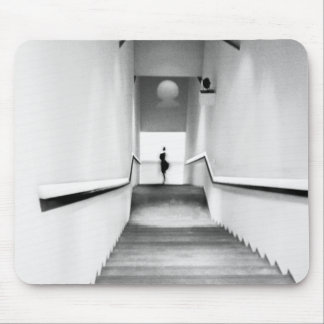 Nice France, Staircase Museum of Modern Art Mouse Pad