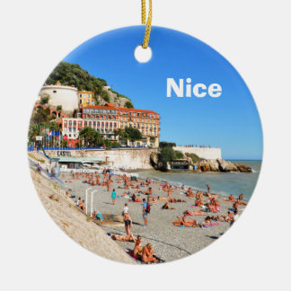 Nice. French Riviera Ceramic Ornament