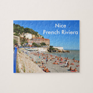 Nice. French Riviera Jigsaw Puzzle