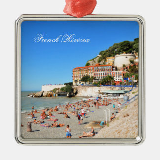 Nice. French Riviera Metal Ornament