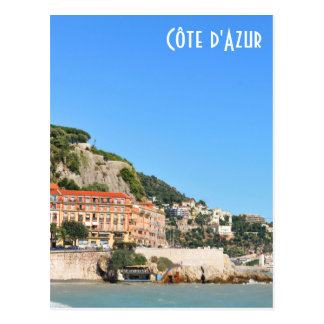 Nice. French Riviera Postcard