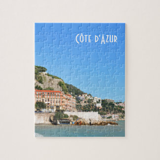 Nice. French Riviera Puzzle