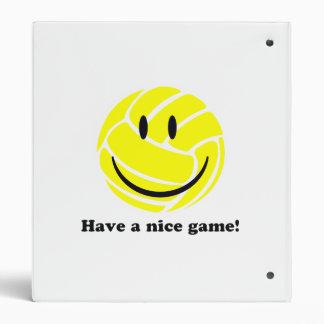 Nice Game 3 Ring Binder