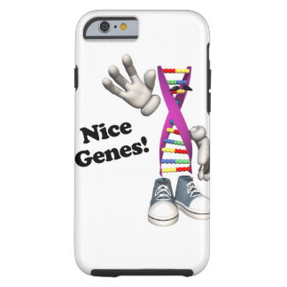 nice genes funny dna geneology design tough iPhone 6 case