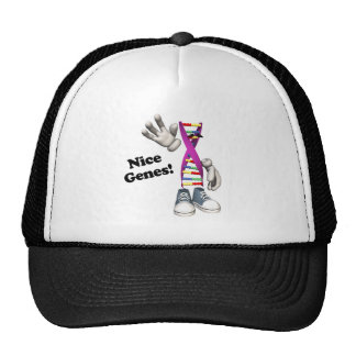 Nice Genes Funny DNA Strip Character Hat