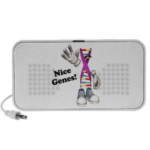 Nice Genes Funny DNA Strip Character Speaker