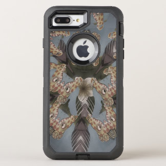 Nice Giraffe blank defender black OtterBox Defender iPhone 7 Plus Case