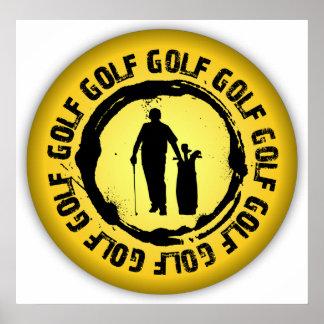 Nice Golf Seal Poster
