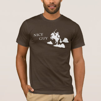 Nice Guy in Shining Armor (White) T-Shirt