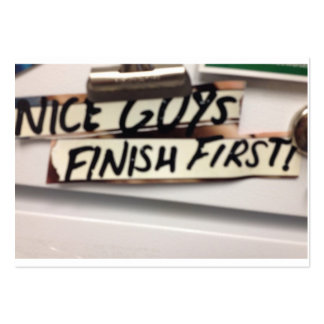 Nice Guys finish first refrig graphic Business Card