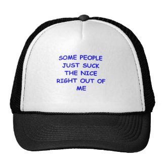 nice mesh hats