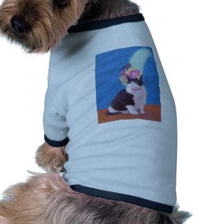 Nice Hat 250ppi.jpg Doggie T Shirt