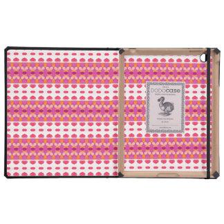 Nice heart pattern iPad case