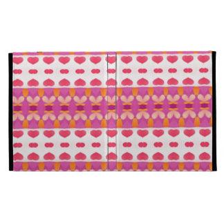 Nice hearth pattern iPad folio cases