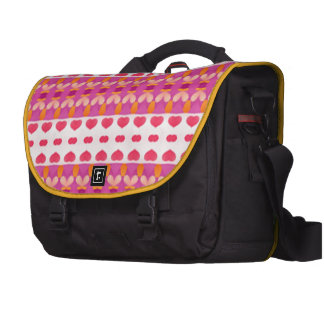 Nice hearth pattern computer bag