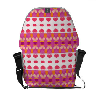 Nice hearth pattern messenger bag