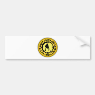 Nice Hockey Seal Bumper Sticker
