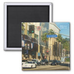 Nice Hollywood Magnet! 2 Inch Square Magnet