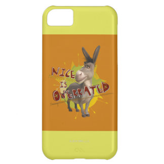 Nice Is Overrated Cover For iPhone 5C