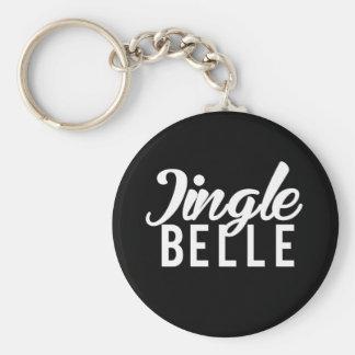 Nice Jingle Belle Print Keychain