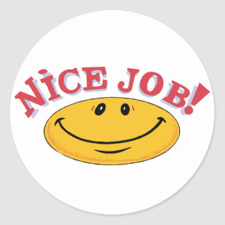 Nice Job! Sticker