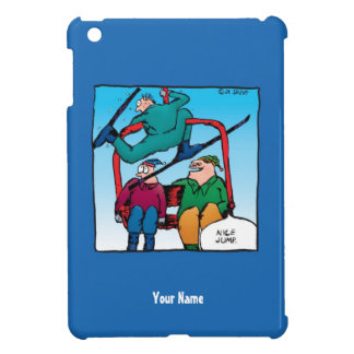 Nice Jump Skiers Personalized iPhone Mini Case Case For The iPad Mini