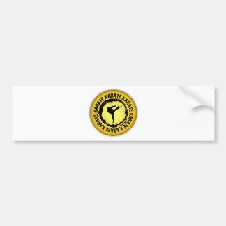 Nice Karate Seal Bumper Sticker