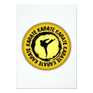 Nice Karate Seal Card