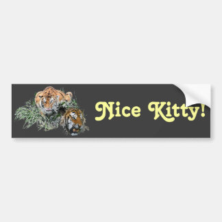 Nice Kitty! Bumper Stickers