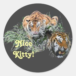 Nice Kitty! Sticker