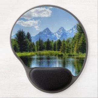 Nice Lake View Gel Mousepad