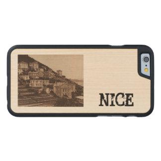Nice Le Mont Boron Cote de Azur France Carved® Maple iPhone 6 Slim Case