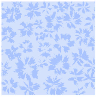 Nice light blue floral pattern. statuette