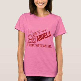 Nice List Abuela T-Shirt