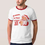 Nice List Personalized T-Shirt