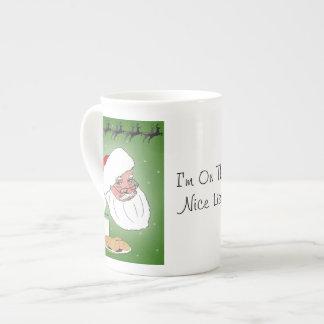 Nice List Tea Cup